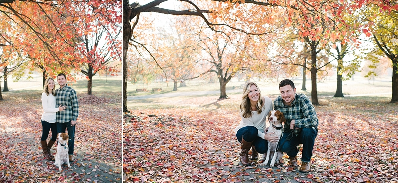Beautiful Fall Engagement Session by Maryland Wedding Photographer Erin Wheeler